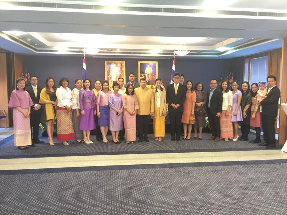 อัครราชทูตที่ปรึกษา (ฝ่ายแรงงาน) เข้าร่วมกิจกรรมงานวันชาติ ที่คณะผู้แทนถาวรไทยประจำสหประชาชาติ ณ นครเจนีวา
